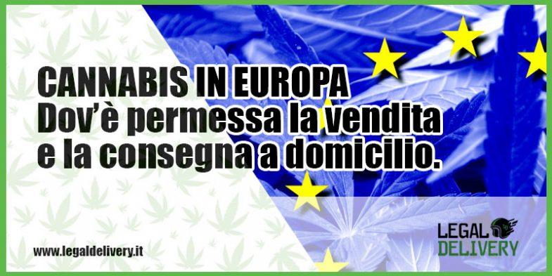 Marijuana legale in europa legaldelivery blog for Domicilio legale